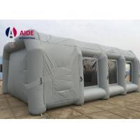 Cheap Gray 8*5*3m Customized Portable Paint Booth Tent Car Paint For Promotion for sale