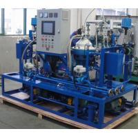 China Custom Centrifugal Hfo Purifier Separator , Lube Oil Purification System on sale