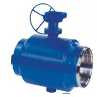 Cheap Industrial Carbon Stainless Steel Ball Valve Full Welded Body Blue Color for sale