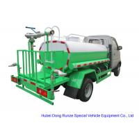 Quality  Mini  Road Wash Water Tank Truck 1000L  With Gasoline Engine  Pump Sprinkler For  Clean  Water Delivery and Spray wholesale