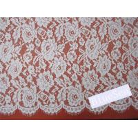 Quality Eyelash Cord Lace Fabric  for Wedding Dress wholesale