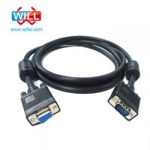 China VGA Cable, 15-Pin VGA Male to VGA Male Monitor Cable, Premium VGA/SVGA/XGA/SXGA/UXGA on sale