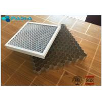 Buy cheap Perforated Aluminum Honeycomb Core For Decoration , High Efficiency And from wholesalers
