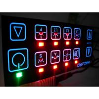 China Vandal Resistant Flat Keys Illuminated Backlighting Keyboards Led Membrane Switches on sale