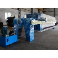 Quality Automatic Chamber Filter Press Electrical Sludge Dewatering Equipment wholesale