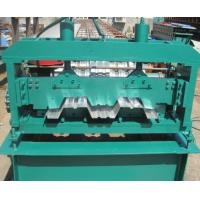 Quality Floor Deck Forming Machine Coil Width 1700mm Anti - Rust Floor Deck Roll Forming Machine Tensile Strength 720 Mpa wholesale