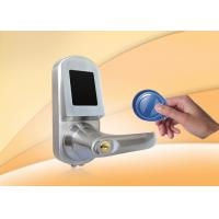 Buy cheap RFID Card Door Lock With Mobile phone, Card, Mechanical key, support NFC for option product