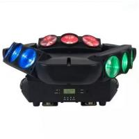 IP33 High Brightness LED Stage Light Spider Moving Head Stage Light LCD Display