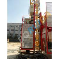 Quality Red / Blue Customized Industrial Elevators With Galvanized High efficiency wholesale