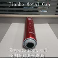 Quality Aerosol Tin cans necked in Diam.52mm height 180mm for hair styling gel wholesale