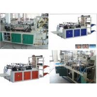 Quality Double Layers Disposable PE Gloves Making Machine With Automatic Counting Function wholesale