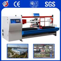 Quality Copper Alloy Resistant Shock / Absorption Jumbo Roll Cutting Machine ±0.1mm Precision for sale