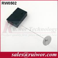 Quality Interactive Experience Retractable Security Tether With Adhesive ABS Plate wholesale