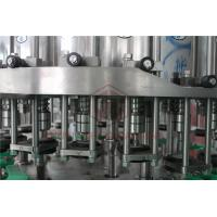 Quality Metal Screw Cap Bottle Filling And Capping Machine / Hot Juice Glass Bottle Filler wholesale