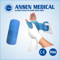 China 5x360cm Medical Fiber Bandage Fiberglass Casting Tape used in Kids Hands Finger on sale