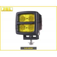 High Illumination 40w Led Truck Work Lights With White And Yellow Light