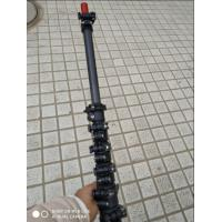 high stiffness carbon fiber telescopic  pole with locks for fruit collection or camera pole