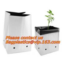 China Flower bags, flower plant bags, planters, poly plant grow nursery bags,Black Polythene Poly Pots, plantin on sale