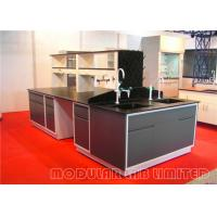 Quality All Steel Structure Modular Laboratory Furniture Chemical Resistant Table Top wholesale