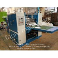 Quality Blue Color Food Box-packed Foil Sheet Folding Machine For Pop up Paper Use wholesale