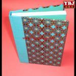 Quality china guangzhou ybj cheap print leather bound book, hardback leather bound book wholesale