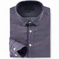 China Men's Dress Shirt in Various Sizes and Styles, OEM Orders are Welcome on sale