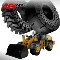 China APEX 17.5-25 Solid Tire, Cushion Tyre for Wheel Loader, Integrated Tool Carrier, Elevating Motor Scraper on sale