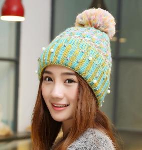 Quality Knit Hats Korean Winter Housewares Knit Hoods Thicker Warm Caps Wool Hat Winter Hat Women