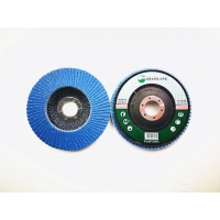 Quality Zirconia VSM Grain P80 Grit 125mm Blue Flap Disc Wheel wholesale