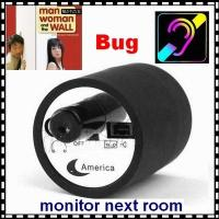 Quality Mini Next Room Ear Amplifier Through Wall Door Audio Listening Spy Surveillance Bug wholesale