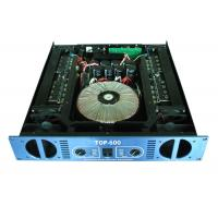 Quality 2×600W Concert Sound Equipment , 2 Channel Analogue Amplifier wholesale