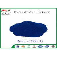 Quality Environmental Friendly Dye Powder Reactive Brill Blue WRE C I Blue 19 100% Strength wholesale