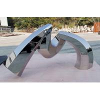 Cheap Custom Outdoor Abstract Stainless Steel Sculpture And Metal Garden Sculpture for sale