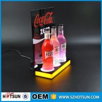 Cheap Shenzhen supplier Free design LED acrylic display for wine acrylic products for sale