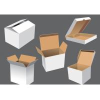 Quality Double Wall Brown Cardboard Packing Boxes , Folded Shipping Box wholesale