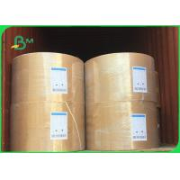 Quality Good Water Absorption Cardboard Paper Roll / 230g - 450g Absorbent Blotter Paper For Card wholesale