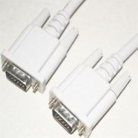 Quality China manufacturer new style Vention VGA cable, white PVC jacket, nickel-plated, RoHS, UL Certificate wholesale