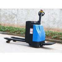 Quality 3 Position Electric Pallet Truck , Round Solid Steel 2.5 Ton Pallet Truck Jack wholesale