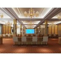 China Sound Proof Folding Internal Doors For Meeting Room , Interior Door on sale