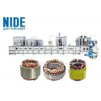 Quality full aotumatic coil winding mahcine stator production line for  three phase washing machine wholesale