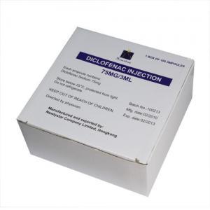 Quality Diclofenac Sodium Injection Small Volume Parenteral 75mg/3ml analgesic anti-inflammatory wholesale