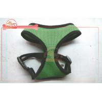 China Two tone adjustable mesh pet harness for dog with quick release buckle on sale