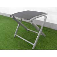 Buy cheap X - Shaped Adjustable Aluminum Folding Footrest Leisure Folding Chair Light Weight product