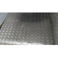 China Jumbo Silver 3 mm Aluminium Checker Plate Used For Car Skid Plate on sale
