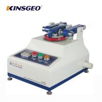 Quality ASTM D4060 Rubber Taber Abrasion Test Equipment With LCD Touch screen wholesale
