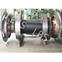 Quality Offshore Windlass Winches / Drawworks Drum For Petroleum Drilling Rig wholesale