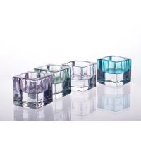 Quality Square Tealight Candle Holder Glass Replacement For Decoration wholesale
