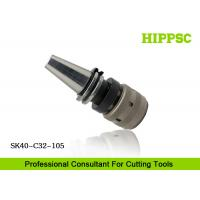 Quality High Accuracy Power Tool Holder 0.003mm Runout With Hook Spanner , SK40 Spindle Type wholesale