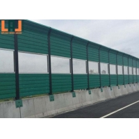 Freeway index 30db Sound Barrier Fence 10mm Thick Soundproof for sale