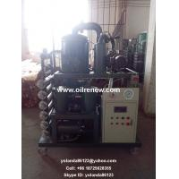 Quality High Vacuum Dielectric Oil Filtering Unit   Transformer Oil Purifying System ZYD wholesale